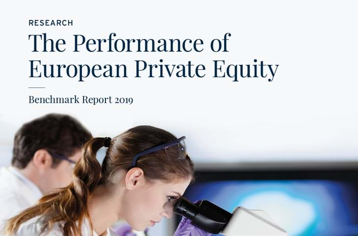 The Performance of European Private Equity Benchmark Report 2019 Logo